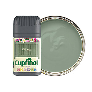 Cuprinol Garden Shades Matt Wood Treatment Tester Pot - Willow 50ml