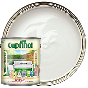 Cuprinol Garden Shades Matt Wood Treatment - White Daisy 2.5L