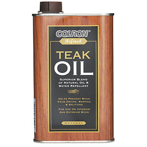Ronseal Colron Refined Teak Oil - 500ml