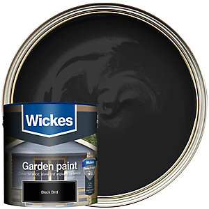 Wickes Garden Colour Matt Wood Treatment - Blackbird 2.5L