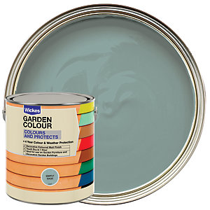 Wickes Garden Colour Matt Wood Treatment - Simply Sage 2.5L