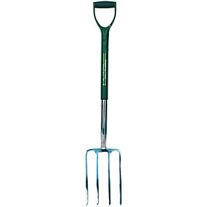 Wickes Garden Digging Fork Stainless Steel - 1000mm