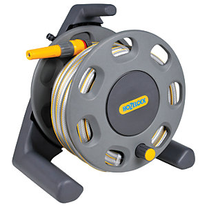 Hozelock 2412 30m Compact Reel with Hose Pipe - 25m