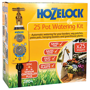Hozelock Automatic Watering Up To 25 Pot Kit