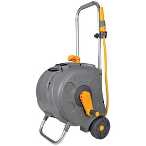 Hozelock Compact Enclosed Cart with Hose - 30m