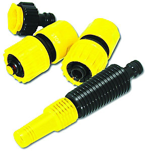 Wickes Garden Hose Pipe Accessory Set