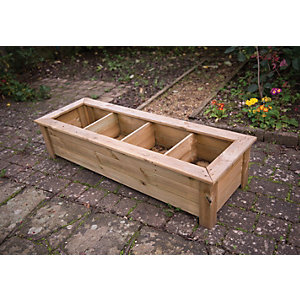 Forest Garden Bamburgh Herb Planter 327mm x 1.5m