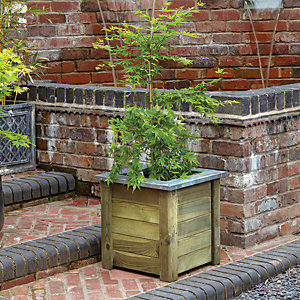 Forest Garden Cambridge Planter - 500 x 500mm