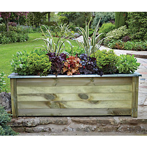Forest Garden Cambridge Planter - 500mm x 1.5m