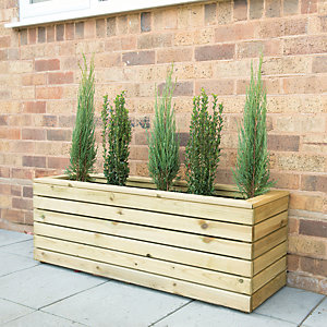 Forest Garden Linear Long Planter - 400mm x 1.2m