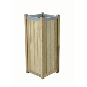 Forest Garden Slender Planter -  400 x 400mm x 1m