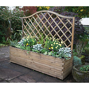 Forest Garden Venice Planter Natural - 1.5m x 1.8m