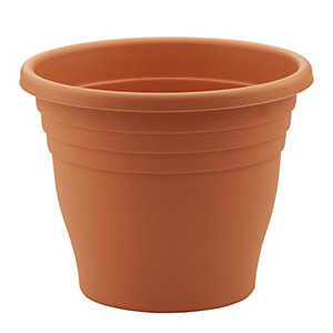 Sankey Terracotta Round Plant Pot - 400mm