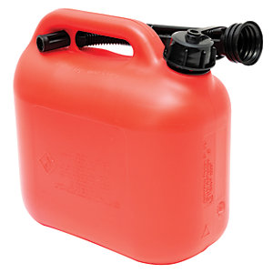 The Handy Red Plastic Fuel Can - 5L