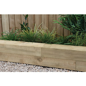 Garden Railway Sleepers & Raised Bed Kits - Fencing -Gardens