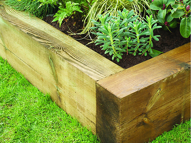 Garden Sleepers & Raised Bed Kits