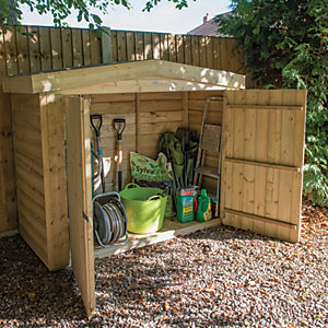 Forest Garden Apex Large Outdoor Store - 6 ft x 3 ft