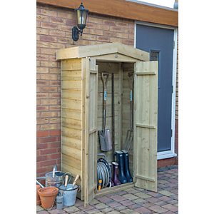 Forest Garden Apex Tall Garden Store - 3 ft x 2 ft