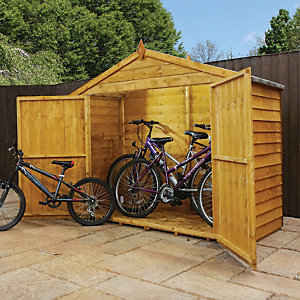 Mercia 3x7 ft Overlap Apex Bike Store