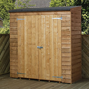 Mercia 6x 2.6 ft Overlap Pent Storage