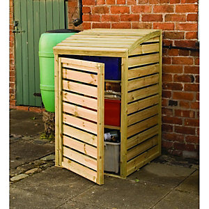Rowlinson Timber Recycling Box Storage - 2 x 3 ft
