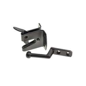 Wickes Heavy Duty Auto Gate Latch Black - 150mm