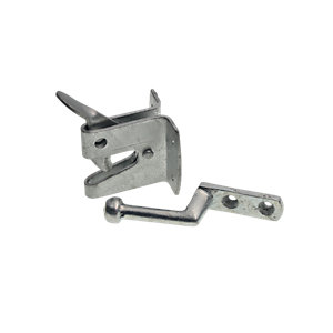 Wickes Heavy Duty Auto Gate Latch Galvanised - 150mm