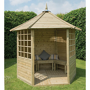Forest Garden Arden Timber Gazebo - 2810 x 2450 mm