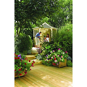 Rowlinson Gainsborough  Garden Gazebo - 3000 x 2600 mm