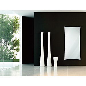 Wickes Star Water Glass Radiator - White 1063 x 532 mm