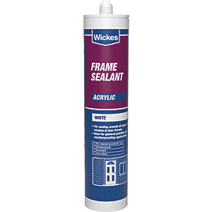 Wickes Frame Acrylic Sealant - White 310ml