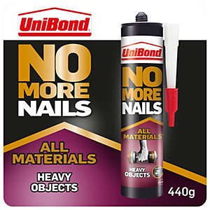 Unibond No More Nails All Materials Heavy Objects Cartridge - 440g