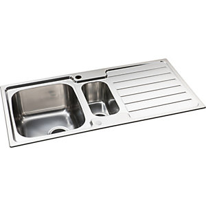 Neron 1.5 Bowl S/Steel Sink