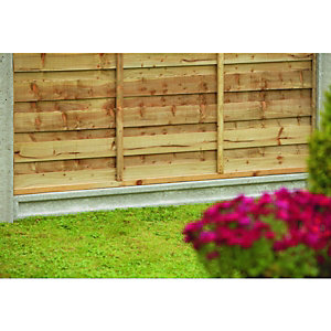 gravel boards fencing gardens wickes. Black Bedroom Furniture Sets. Home Design Ideas