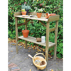 Forest Garden Pressure Treated Potting Table