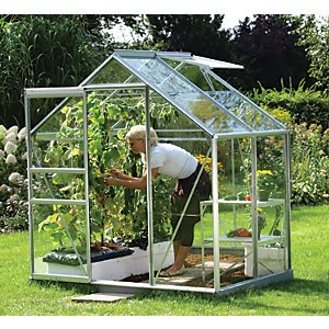 Vitavia Venus 6 x 4 ft Toughened Glass Greenhouse