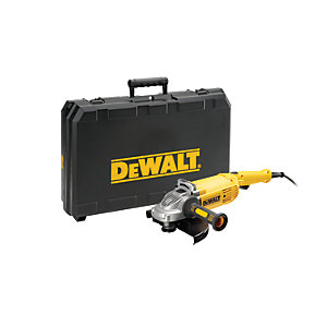 DEWALT DWE492K-LX Large Corded Angle Grinder 230mm with Kit Box 110V - 2200W