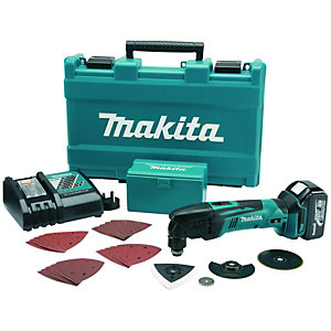 Makita BTM50RFX1 18V 3.0Ah Li-ion Cordless Multi-Tool With Accessories