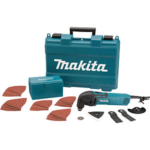 Makita TM3000CX4/1 Multi-Tool With 42 Piece Accessory Kit 110V - 320W