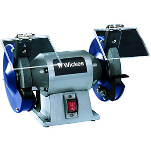 Wickes Dual Wheeled Bench Grinder - 250W Best Price, Cheapest Prices