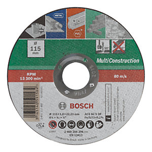 Bosch Multi Purpose Cutting Disc - 115mm
