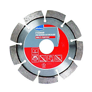 Wickes Pro Diamond Multi-Purpose Cutting Blade - 115mm