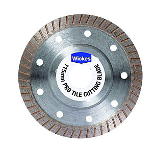 Wickes Pro Granite & Tile Cutting Blade - 115mm