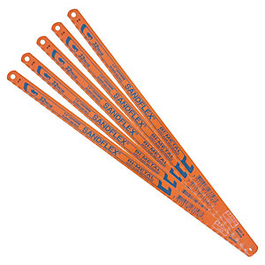 Bacho 32TPI Hacksaw Blades - 12in Pack of 5