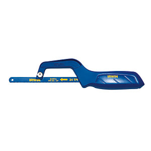 Irwin 10504408 Mini Hacksaw - 10in/250mm