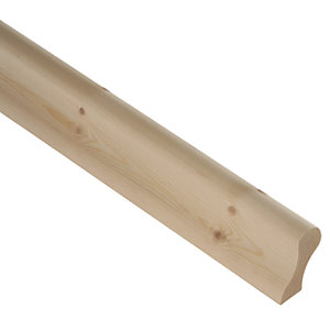 Wickes Pine Pigs Ear Handrail 3.6m