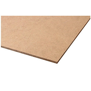 Wickes General Purpose Hardboard Sheet - 3mm x 610mm x 1220mm