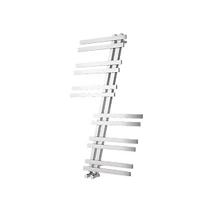 Wickes Ardea Designer Towel Radiator - Chrome 596 x 943 mm