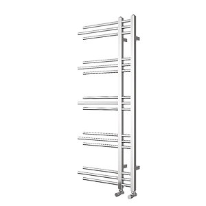 Wickes Embrace Designer Towel Radiator - Chrome 1200 x 500 mm