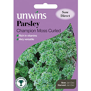 Unwins Champion Moss Parsley Seeds